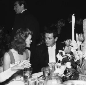 """Academy Awards - 30th Annual""Rock Hudson, Sean Connery (background)1958 © 1978 Bernie Abramson - Image 10764_0076"