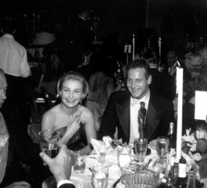 """Academy Awards - 30th Annual""Joanne Woodward, Paul Newman1958 © 1978 Bernie Abramson - Image 10764_0080"