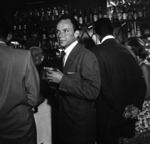 Frank Sinatra at the Villa Capri in Hollywood, California 1955 © 1978 Bernie Abramson - Image 10768_0006