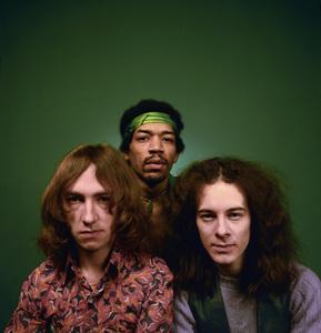 """The Jimi Hendrix Experience""Noel Redding, Jimi Hendrix, Mitch Mitchell1969© 1978 Ed Thrasher - Image 10778_0018"