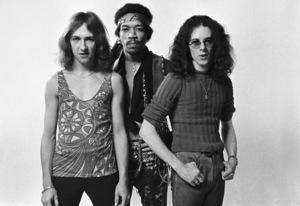 Jimi Hendrix, Mitch Mitchell and Noel Redding 1969 © 1978 Ed Thrasher - Image 10778_0045