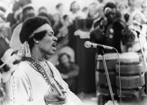 Jimi Hendrix performing at Woodstock1969** I.V.M. - Image 10778_0054