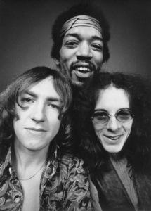 """Mitch"" Mitchell, Jimi Hendrix, Noel ReddingLos Angeles, 5/69. © 1978 Ed Thrasher - Image 10778_0103"