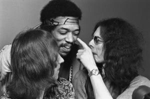 Jimi Hendrix, Mitch Mitchell and Noel Redding1969 © 1978 Ed Thrasher - Image 10778_041