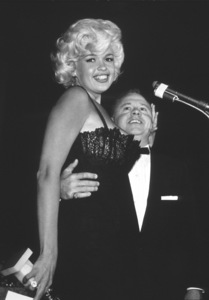 """Golden Globe Awards""Jayne Mansfield, Mickey Rooney1958 © 1978 Bernie AbramsonMPTV - Image 10782_0002"