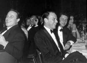 """Golden Globe Awards"" 1958.Gene Kelly, Frank Sinatra, Eddie Fisher © 1978 Bernie Abramson - Image 10782_0006"