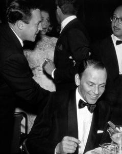 """Golden Globe Awards"" 1958.Gene Kelly, Frank Sinatra, Sammy Cahn, Eddie Fisher © 1978 Bernie Abramson - Image 10782_0007"