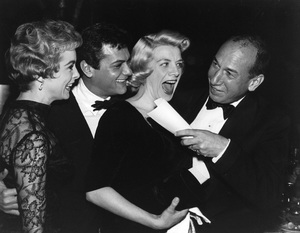 """Golden Globe Awards""Janet Leigh, Tony Curtis, Rosemary Clooney, Jose Ferrer1958 © 1978 Bernie Abramson - Image 10782_0014"