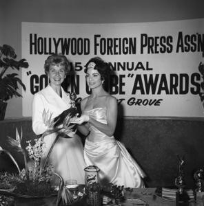 """The Golden Globe Awards""Doris Day, Ziva Rodann1958© 1978 Bernie Abramson - Image 10782_0021"