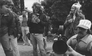 """Roger CormanDuring the filming of """"Moving Violation""""1976Photo by Wynn Hammer - Image 10789_0002"""