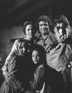 """Little house On The Prairie""Lindsay Greenbush,Karen Grassle,Melissa Gilbert,Michael Landon,Melissa Anderson1974Photo By Wynn Hammer - Image 10790_0001"