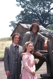 """Little House on the Prairie""Michael Landon, Melissa Sue Anderson, Linwood Boomer1979 © 1979 Gene Trindl - Image 10790_0011"