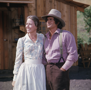 """Little House on the Prairie""Karen Grassle, Michael Landon1976** H.L. - Image 10790_0079"