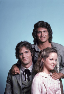 """Little House on the Prairie""Michael Landon, Linwood Boomer, Melissa Sue Anderson1979 © 1979 Gene Trindl - Image 10790_0101"