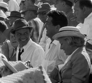 Frank Sinatra and Dean Martin at a World Series game between the Los Angeles Dodgers and the Chicago White Sox1959 © 1978 Bernie Abramson - Image 10803_0001