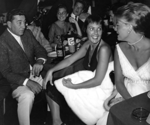 Keely Smithwith Louis Prima at the opening of the Clositer Nightclubcirca 1960Photo by Joe Shere - Image 10808_0022
