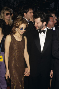 """Sarah Jessica Parker and Matthew Broderick at """"The 65th Annual Academy Awards""""1993© 1993 Gary Lewis - Image 10814_0018"""