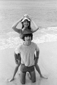 George Harrison and Pattie Boyd1964 © 1978 Gunther - Image 10838_0115