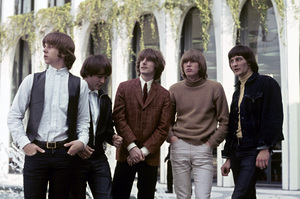 The Byrds (Roger McGuinn, Gene Clark, David Crosby, Chris Hillman, Michael Clarke)1965 © 1978 Gunther - Image 10839_0002