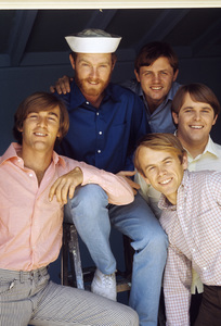 The Beach Boys (Mike Love, Al Jardine, Bruce Johnston, Carl Wilson, Dennis Wilson) circa 1966 © 1978 Gunther - Image 10841_0012