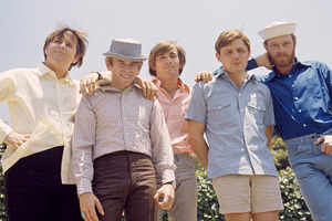The Beach Boys (Mike Love, Al Jardine, Bruce Johnston, Carl Wilson, Dennis Wilson) circa 1966 © 1978 Gunther - Image 10841_0014