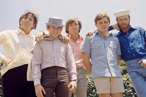 The Beach Boys (Mike Love, Al Jardine, Bruce Johnston, Carl Wilson, Dennis Wilson) circa 1966 © 1978 Gunther - Image 10841_0014