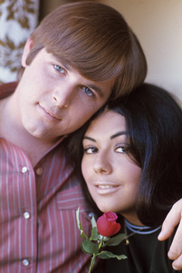 The Beach Boys (Carl Wilson and Annie) circa 1966 © 1978 Gunther - Image 10841_0021
