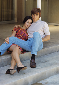 The Beach Boys (Dennis Wilson and Carol) circa 1966 © 1978 Gunther - Image 10841_0114
