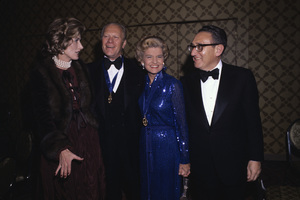 Gerald Ford, Betty Ford and Henry Kissinger1979© 1979 Gunther - Image 10856_0007