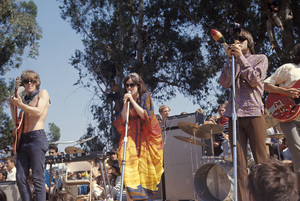 Paul Kantner, Grace Slick and Marty Balin of Jefferson Airplanecirca 1968© 1978 Gunther - Image 10858_0005