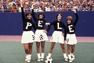 Pele Cheerleaderscirca 1975 © 1978 Gunther - Image 10865_0002