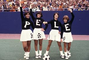 Pele Cheerleaderscirca 1975 © 1978 Gunther - Image 10865_0002
