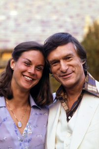 Hugh Hefner and daughter Christiec. 1976 © 1978 Gunther - Image 10869_0014
