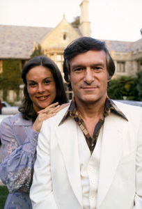 Hugh Hefner and daughter Christiec. 1976 © 1978 Gunther - Image 10869_0015