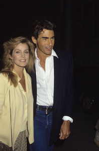 Priscilla Presley and Mike Edwardscirca 1980s© 1980 Gary Lewis - Image 10872_0050