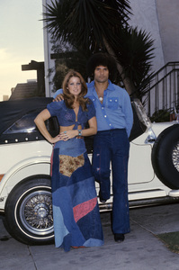 Priscilla Presley and Mike Stone circa 1970s © 1978 Gary Lewis - Image 10872_0065