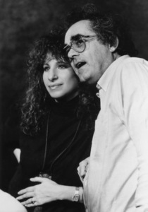 "Barbra Streisand and Michel Legrand at a recording session for the soundtrack of ""Yentl"" 1983** B.D.M. - Image 10874_0004"
