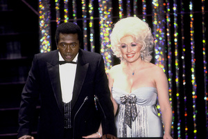 """Academy Awards: 52nd Annual,"" Ben Vereen, Dolly Parton. 1980. © 1980 Gunther - Image 10877_0016"