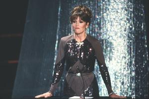 """Academy Awards - 52nd Annual""Jane Fonda1980 © 1980 Gunther - Image 10877_0019"