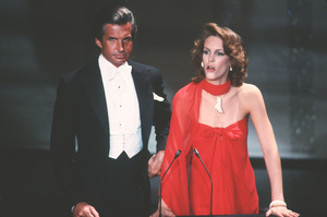"""Academy Awards - 52nd Annual""George Hamilton, Jamie Lee Curtis1980 © 1980 Gunther - Image 10877_0035"