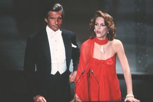 """Academy Awards - 52nd Annual""George Hamilton, Jamie Lee Curtis1980 © 1980 Gunther - Image 10877_0035"