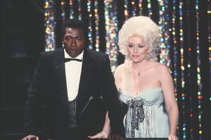 """Academy Awards - 52nd Annual""Ben Vereen, Dolly Parton1980 © 1980 Gunther - Image 10877_0039"