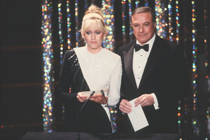 """Academy Awards - 52nd Annual""Olivia Newton-John, Gene Kelly1980 © 1980 Gunther - Image 10877_0040"