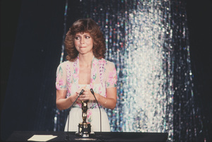 """""""Academy Awards - 52nd Annual""""Sally Field (Best Actress)1980 © 1980 Gunther - Image 10877_0043"""