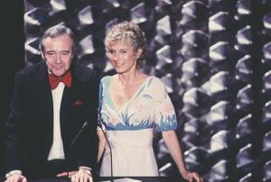 """Academy Awards - 52nd Annual""Jack Lemmon, Cloris Leachman1980 © 1980 Gunther - Image 10877_0057"