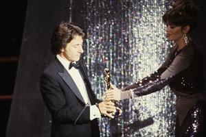 """The 52nd Annual Academy Awards"" Dustin Hoffman, Jane Fonda 1980 © 1980 Gunther"