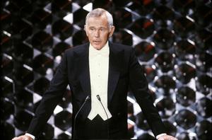 """Academy Awards: 52nd Annual""Johnny Carson (Host)1980 © 1980 GuntherMPTV - Image 10877_0067"