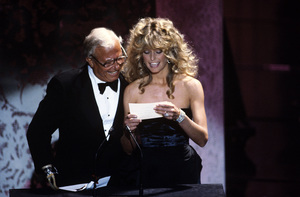 """The 52nd Annual Academy Awards""Douglas Fairbanks Jr., Farrah Fawcett1980 © 1980 Gunther - Image 10877_0074"