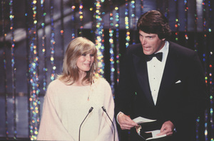"""Academy Awards - 52nd Annual""Bo Derek, Christopher Reeve1980 © 1980 Gunther - Image 10877_0078"