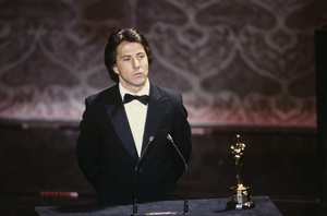 """""""The 52nd Annual Academy Awards"""" Dustin Hoffman 1980 © 1980 Gunther"""
